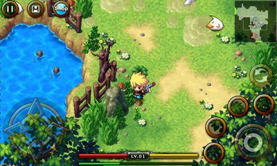 Screenshots of the ZENONIA 4 for Android tablet, phone.