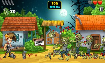 Screenshots of the Zombie Area! for Android tablet, phone.