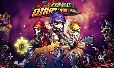 Screenshots of the Zombie Diary Survival for Android tablet, phone.