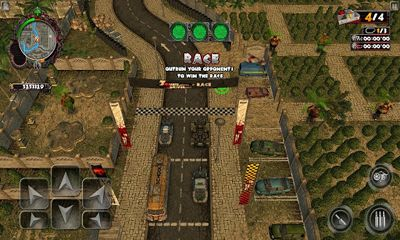 Screenshots of the Zombie Driver THD for Android tablet, phone.