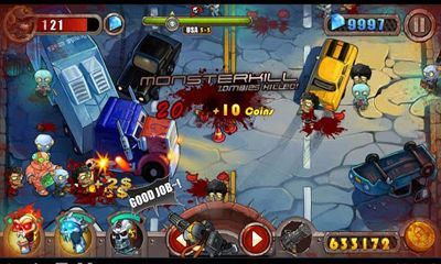 Screenshots of the Zombie Evil for Android tablet, phone.
