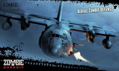 Screenshots of the Zombie Gunship for Android tablet, phone.