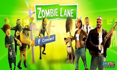 Screenshots of the Zombie Lane for Android tablet, phone.