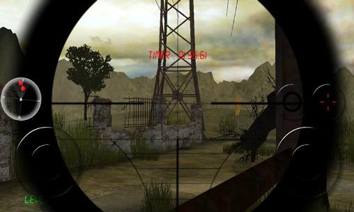Screenshots of the Zombie sniper for Android tablet, phone.