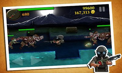 Screenshots of the Zombie Trenches Best War Game for Android tablet, phone.