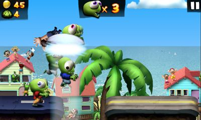 Zombie Tsunami - Android game screenshots. Gameplay Zombie Tsunami.