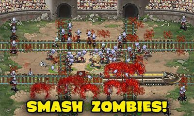 Screenshots of the Zombies & Trains! for Android tablet, phone.