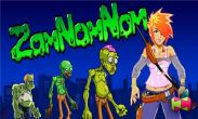 In addition to the game Igun Zombie for Android phones and tablets, you can also download ZomNomNom for free.