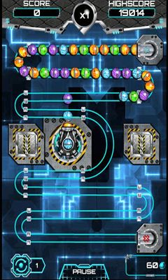 Screenshots of the Zuma Factory for Android tablet, phone.