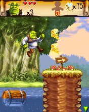 Mobile game Shrek 3 - screenshots. Gameplay Shrek 3