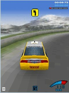 Mobile game V-Rally 3D - screenshots. Gameplay V-Rally 3D