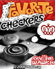 Mobile game Favorite checkers - screenshots. Gameplay Favorite checkers