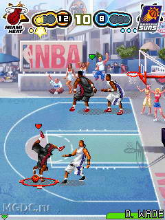 Mobile game NBA Smash! - screenshots. Gameplay NBA Smash!