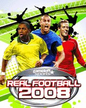 Mobile game Real Football 2008 3D + 2D - screenshots. Gameplay Real Football 2008 3D + 2D