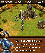 Mobile game Age of Empires III Mobile - screenshots. Gameplay Age of Empires III Mobile