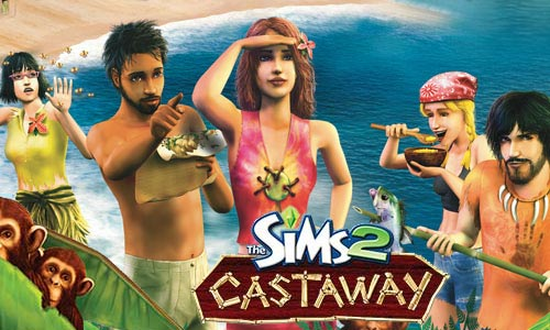 Mobile game The Sims 2: Castaway Mobile - screenshots. Gameplay The Sims 2: Castaway Mobile