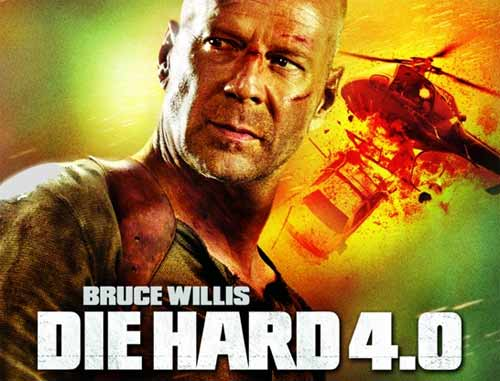 Mobile game Die hard 4.0 - screenshots. Gameplay Die hard 4.0