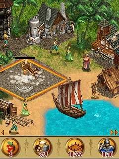 Mobile game The Settlers - screenshots. Gameplay The Settlers