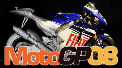 Moto GP 08 - java game for mobile. Moto GP 08 free download.