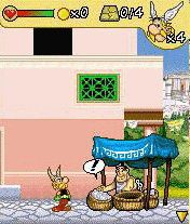 Mobile game Asterix 2008 - screenshots. Gameplay Asterix 2008