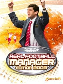 Mobile game Real Football Manager Edition 2009 - screenshots. Gameplay Real Football Manager Edition 2009