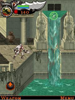 Mobile game God Of War: Betrayal - screenshots. Gameplay God Of War: Betrayal