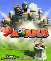 Mobile game Worms Forts 3D - screenshots. Gameplay Worms Forts 3D