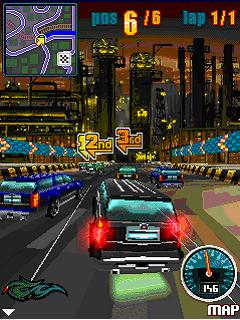 Mobile game Nitro Street Racing - screenshots. Gameplay Nitro Street Racing