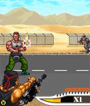 Mobile game Rambo Forever - screenshots. Gameplay Rambo Forever