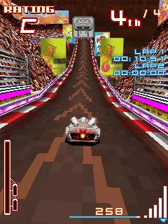 Mobile game Glu Mobile Speed Racer - screenshots. Gameplay Glu Mobile Speed Racer