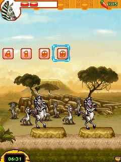 Mobile game Madagascar 2: Escape to Africa - screenshots. Gameplay Madagascar 2: Escape to Africa