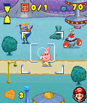 Mobile game Sponge Bob Paparazzi Parade - screenshots. Gameplay Sponge Bob Paparazzi Parade