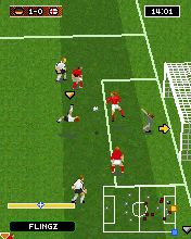 Mobile game 2007 Real football 3D - screenshots. Gameplay 2007 Real football 3D