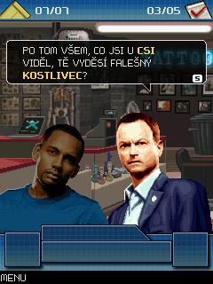 Mobile game CSI: New York. The mobile game - screenshots. Gameplay CSI: New York. The mobile game