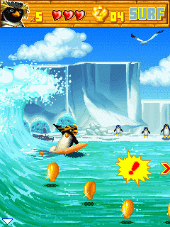 Mobile game Surf's Up - screenshots. Gameplay Surf's Up