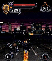 Mobile game Ghost Rider - screenshots. Gameplay Ghost Rider