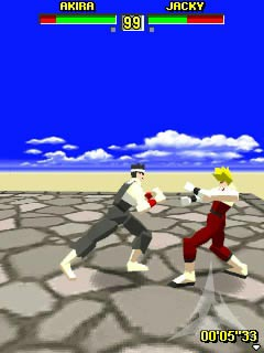 Virtua Fighter Mobile 3D game ponsel Java jar