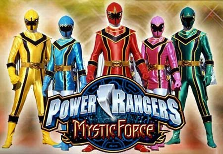 Mobile game Power Rangers: Mystic Force - screenshots. Gameplay Power Rangers: Mystic Force