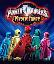 Power Rangers Mystic Force game ponsel Java jar