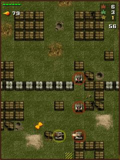 Mobile game Tanchiki (Tanks) - screenshots. Gameplay Tanchiki (Tanks)