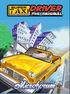 Mobile game Super Taxi driver 3D The Original - screenshots. Gameplay Super Taxi driver 3D The Original