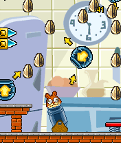 Mobile game Hamster Loco - screenshots. Gameplay Hamster Loco