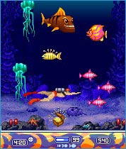 Mobile game Piranha - screenshots. Gameplay Piranha