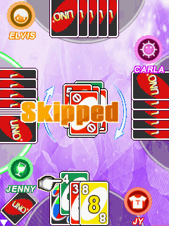Mobile game UNO - screenshots. Gameplay UNO