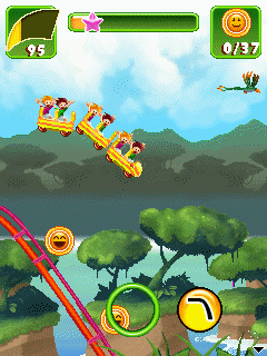 Mobile game Rollercoaster Revolution 99 Tracks - screenshots. Gameplay Rollercoaster Revolution 99 Tracks
