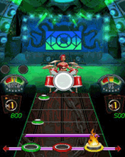 Mobile game Guitar Hero: World Tour - screenshots. Gameplay Guitar Hero: World Tour