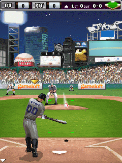 Mobile game Derek Jeter Pro Baseball 2009 - screenshots. Gameplay Derek Jeter Pro Baseball 2009