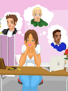 Mobile game Bad girl: Prom Night - screenshots. Gameplay Bad girl: Prom Night