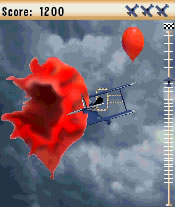 Mobile game Stunt plane - screenshots. Gameplay Stunt plane