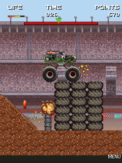 Mobile game Monster Jam - screenshots. Gameplay Monster Jam